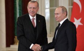 Эрдоган заявил о планах совместно с Россией производить С-500