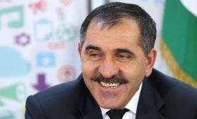 Путин назначил экс-главу Ингушетии Евкурова заместителем Шойгу