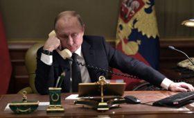 Путин заявил Зеленскому о важности диалога сторон по Донбассу