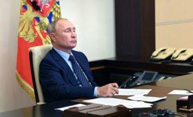 Путин поручил создать рабочую группу по ситуации в Усолье-Сибирском