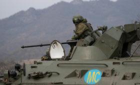 Кремль объяснил необходимость согласия Совфеда на военных в Карабахе