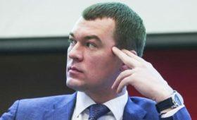В Хабаровске депутаты переобулись в воздухе после разгона от Дегтярева