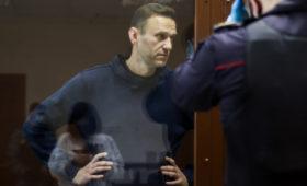 Навальный рассказал о своем состоянии во время заключения в колонии