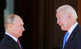 СМИ узнали об обсуждении Путиным и Байденом баз России в Средней Азии