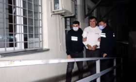 Грузинская прокуратура раскрыла детали приезда Саакашвили в страну»/>